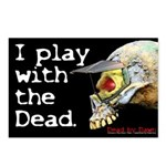 I play with the Dead - Postcards (Package of 8)