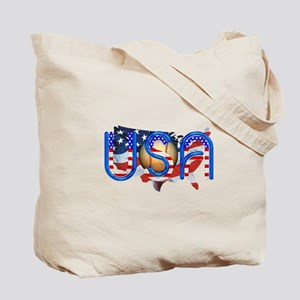 Baseball in the USA Tote Bag