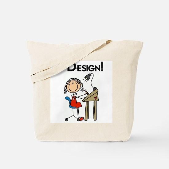 I Design Tote Bag