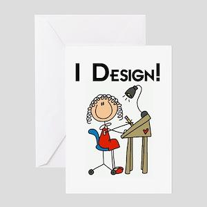 I Design Greeting Card