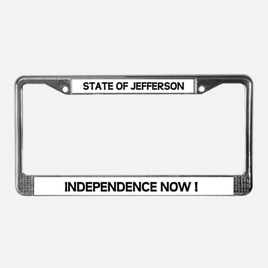 Cute North california License Plate Frame