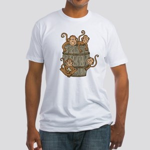 Barrel Monkey Fitted T-Shirt