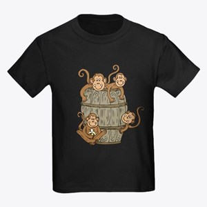 Barrel Monkey Kids Dark T-Shirt