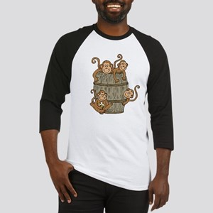 Barrel Monkey Baseball Jersey