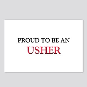Proud To Be A USHER Postcards (Package of 8)