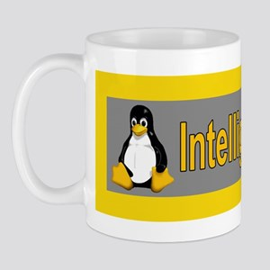 Linux Penguin Intelligent Design Mug