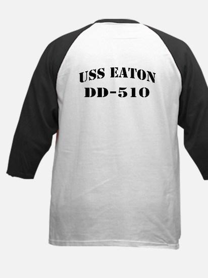 USS EATON Kids Baseball Jersey