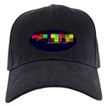 Color-Coded Chaos Black Cap
