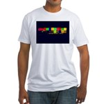 Color-Coded Chaos Fitted T-Shirt