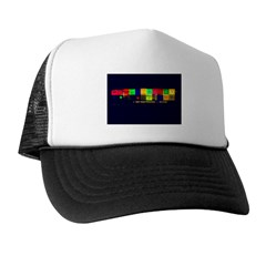 Color-Coded Chaos Trucker Hat