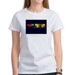 Color-Coded Chaos Women's T-Shirt