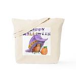 Halloween Tote Bag (LadyBug's Witch Hat)