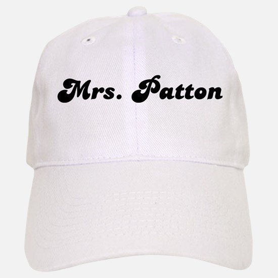 Mrs. Patton Baseball Baseball Cap