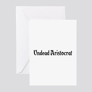 Undead Aristocrat Greeting Cards (Pk of 20)
