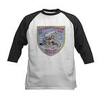 USS EVERETT F. LARSON Kids Baseball Jersey