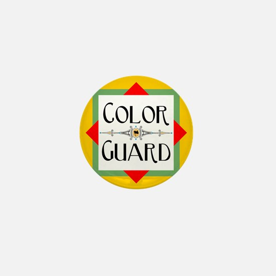 Color Guard Mini Button