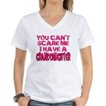 Scare Me - Granddaughter Women's V-Neck T-Shirt