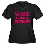 Scare Me - Granddaughter Women's Plus Size V-Neck