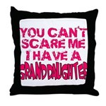 Scare Me - Granddaughter Throw Pillow