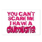 Scare Me - Granddaughter Postcards (Package of 8)