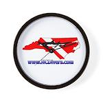 NC Diver Wall Clock