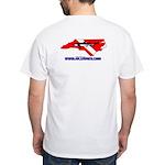 NCDiver Custom White T-Shirt