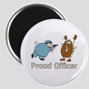 Police Donut Magnet