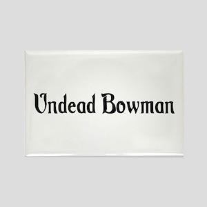 Undead Bowman Rectangle Magnet