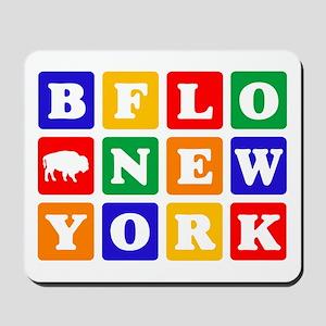 BFLO NEW YORK Mousepad