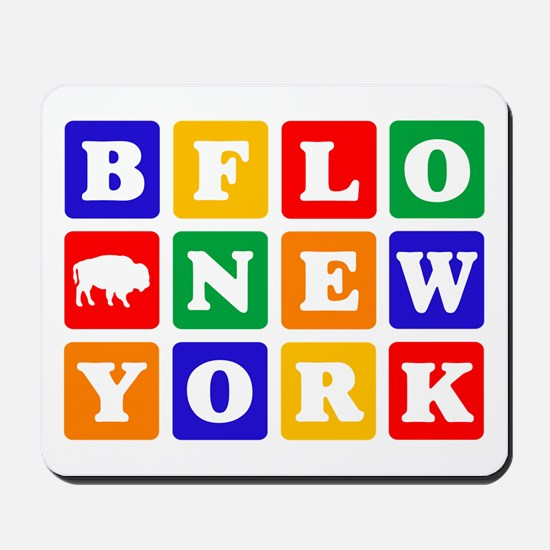 BFLO NEW YORK Mousepad