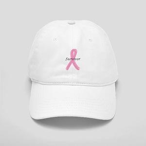 PINK RIBBON SURVIVOR (BREAST Cap