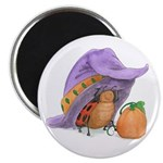Ladybug's Witchy Hat Magnet