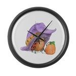 Witchy Hat Large Wall Clock