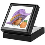 Halloween Treasure Box with Ladybug