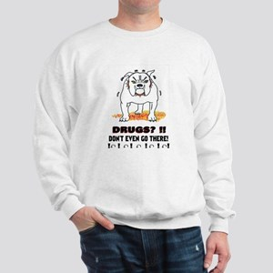 BullDog With Attitude Sweatshirt