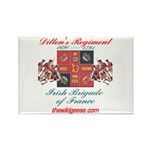 Irish Brigade of Fr. Rectangle Magnet (100 pack)
