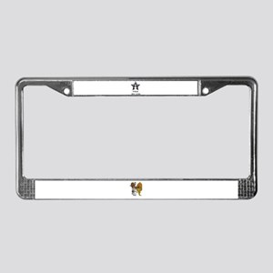 WISH APON A STAR License Plate Frame