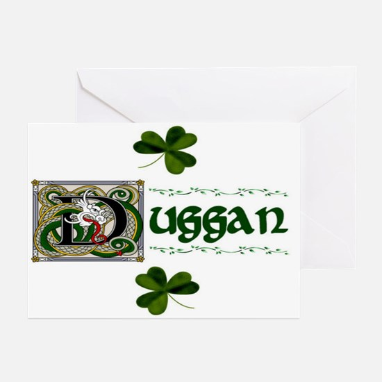 Duggan Celtic Dragon Note Cards (Pk of 10)