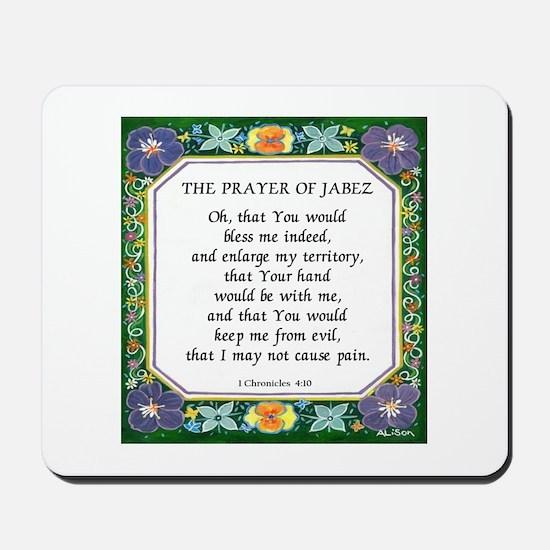 2 Prayers: Prayer of Jabez a Mousepad