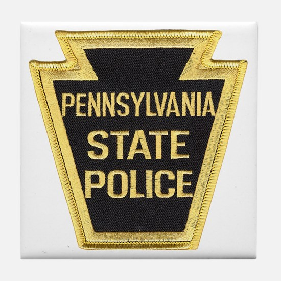 Penna. State Police Tile Coaster