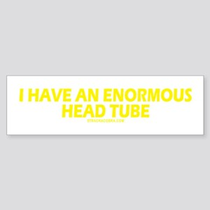 Head Tube Bumper Sticker