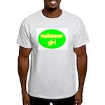 Swimmer Girl Ash Grey T-Shirt