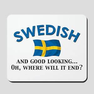 Good Lkg Swedish 2 Mousepad