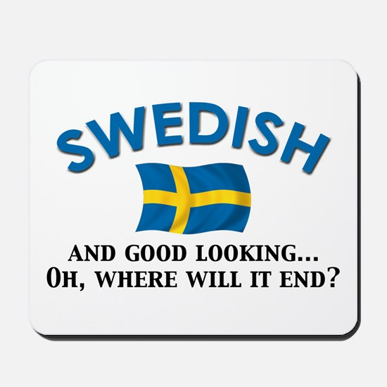 Good Lkg Swedish 2 Mousepad