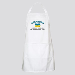 Good Lkg Ukrainian 2 BBQ Apron