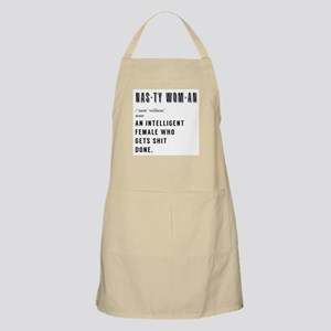 Women's March Nasty Woman Quote Light Apron