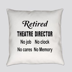 Retired Theatre director Everyday Pillow
