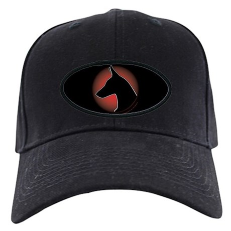 Red Sun Doberman Black Cap