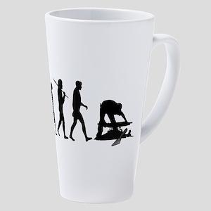Archaeologist 17 Oz Latte Mug