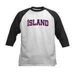 Iceland Colors Kids Baseball Jersey